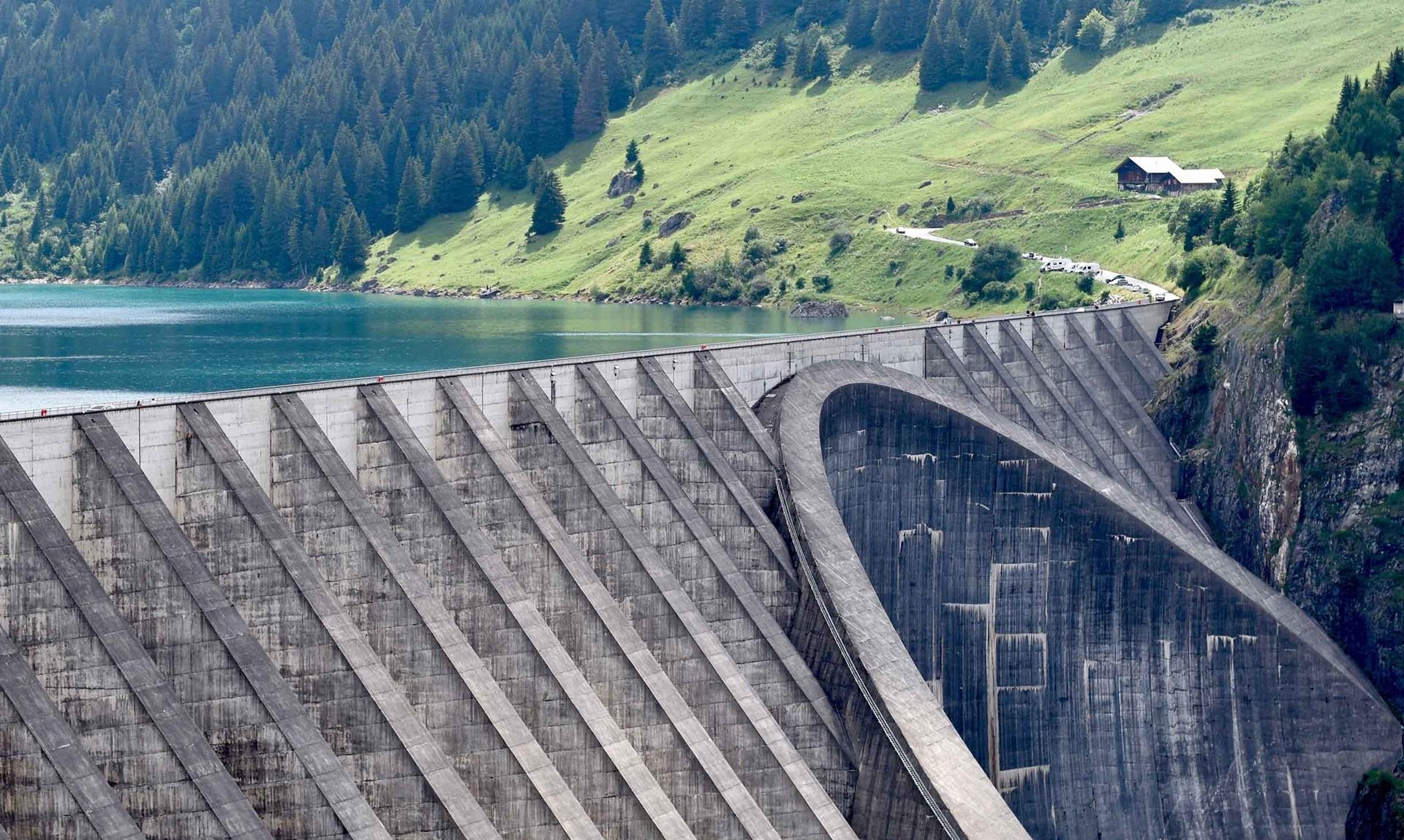 Dammen en reservoirs