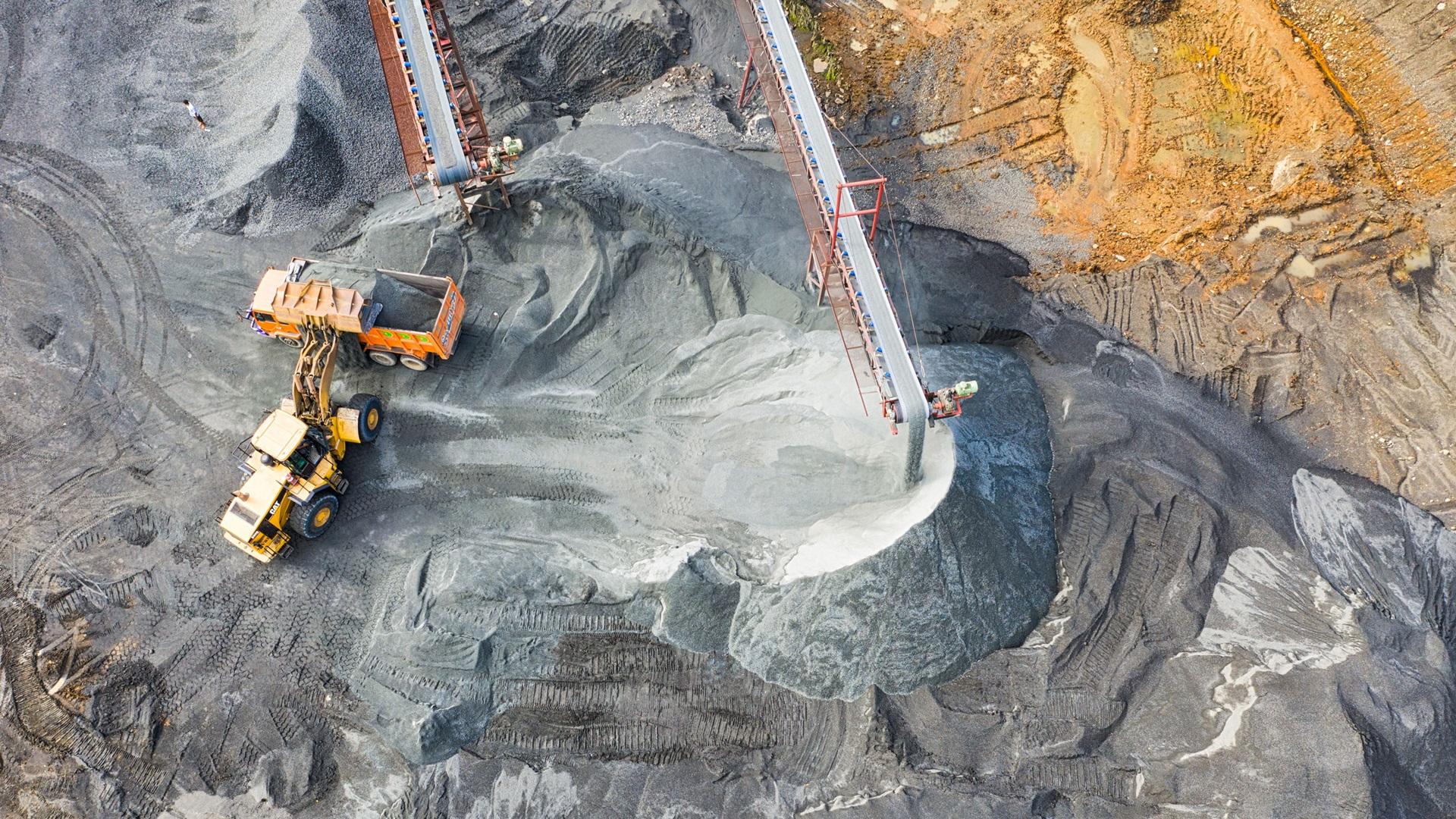 Mijnbouw en slurry